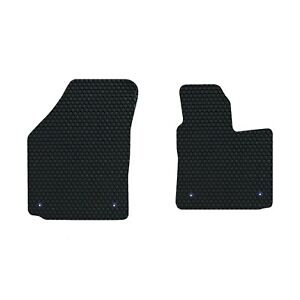 VW Caddy 2004-present GENUINE LUXURY Tailored Rubber Car Floor Mats Front Set