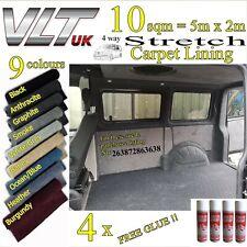 20 Sqm 4 Way Stretch Camper Van Carpet Automotive Car & Boat Trim Lining T5 T6