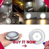 LED Wireless PIR Motion Sensor Night Lights Battery Powered Wall Cabinet Lamps