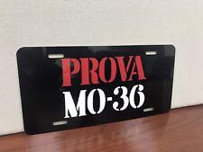 Prova MO 36 Italian License plate tag Ferrari P3 P4 Lamborghini Alfa Romeo  Fiat