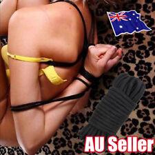 10M Sex Adult Game Soft Cotton Bondage Rope Play Strap Restraint Fetish Toy BO
