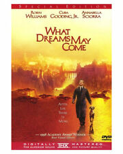 What Dreams May Come 1998 Dvd Movie Robin Williams Annabella Sciorra Love Horror