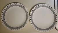 Lot of 2 Corelle City Block Dinner Plates -  $5.00 Shipping