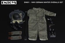 1:6 scale EMTOYS EM001 TOYS WWII GERMAN WINTER OVERALLS SET Solider In Stock HOT
