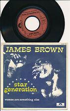 "JAMES BROWN 45 TOURS 7"" BELGIUM STAR GENERATION"