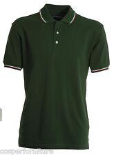 Polo Unisex Payper Italia cotone 100 Manica corta tricolore L Verde