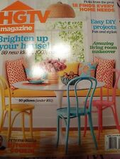 HGTV MAGAZINE April 2015 Issue~Brand NEW!~Easy DIY Projects!~FREE SHIPPING!