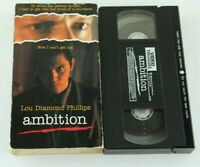 Ambition VHS Lou Diamond Phillips 1992 90s Thriller Haing S. Ngor Clancy Brown