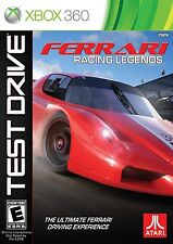NEW Test Drive: Ferrari Racing Legends  (Xbox 360, 2012) NTSC