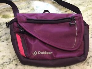 Outdoor Products Small Nylon Shoulder Bag, Travel, Commute, Women's