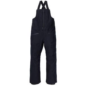 Pantaloni Snowboard Burton GORE-TEX RESERVE BIB TRUE BLACK 2021
