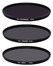 ICE DARK ND Filter Set 67mm ND100000 ND1000 ND64 Neutral Density Optical Glass