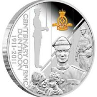 2011 CENTENARY OF RMC DUNTROON AUSTRALIA Silver 1oz Coin in Envelope