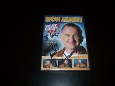 Ron James WEST COAST WILD DVD 2007 SIGNED