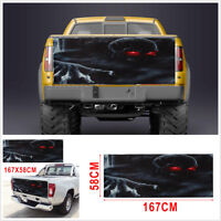 """23"""" x 66"""" Large Skull Tailgate Graphic Tint Decal Sticker For Truck Jeep SUV"""