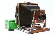 Gorgeous 8x10 Nagaoka Seisakusho Large Format Camera w/ Mint Fuji W 250mm F/6.3