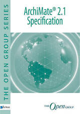 ArchiMate 2.1 Specification, Good Condition Book, The Open Group, ISBN 978940180