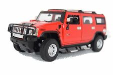 HUMMER H2 DIE CAST COLLECTIBLE MODEL SCALE 1:24 (RED)