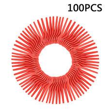 100x Plastica Rossa Lame di Ricambio Tagliabordi per Lidl Florabest FRT18A