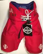 Ice Hockey Sr Pant Red Tackla Model 9000,  Sr Sizes ML, L, & XL