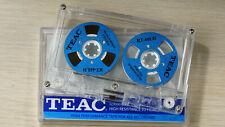 Teac Audio Tape neu blank blau Rollen Farbe Cassette Reel to Reel