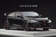 1/18 MOTORHELIX Honda Civic Type R FK8 Prototype LHD Gloss Black 2017