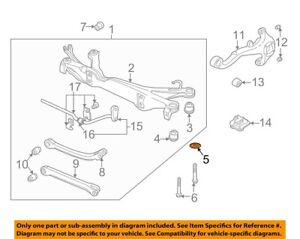 ( 1 )GENUINE GM/SATURN 90495598 WASHER - Rear Suspension Subframe 01-05 L Series