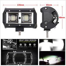"2 Pcs 5"" Waterproof 18LED 108W Car Flood Beam LED Pods Work Lights Fog Lamps DRL"
