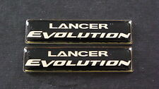 Lancer Evolution Badge EVO LANCER MIVEC MITSUBISHI FQ TURBO