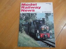 MODEL RAILWAY NEWS NOVEMBER 1970 HOBBY MAG 0 GAUGE TINPLATE WAGONS TURNTABLE