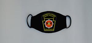 Pennsylvania State Police Reusable Face Mask Trooper Highway Patrol Deputy LEO