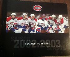 RARE 2002-2003 Montreal Canadiens Full Unused Complete Season Ticket Book