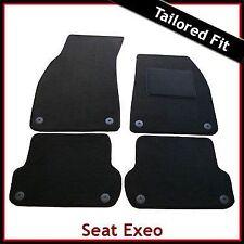 Seat Exeo 2008-2013 Tailored Carpet Car Floor Mats BLACK