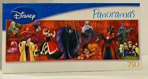 Disney Villains Panoramas Super Mega 750 Piece Puzzle by Mega Brands
