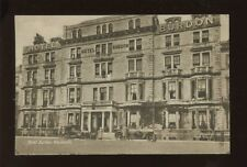 Dorset WEYMOUTH Hotel Burdon Used 1932 PPC