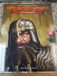 5th Edition Fantasy: #1 Glitterdoom 5E D & D Module Adventure Fifth RPG