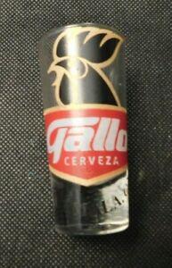 GALLO CERVEZA GUATEMALA, C.A. SHOT GLASS!    e1447UXX