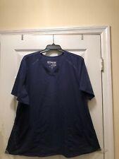 Grey'S Anatomy Impact Size 3Xl Indigo Women'S Elevate 3-Pocket Scrub Top