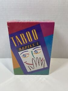 TABOO Game Refill #1 Expansion Cards 378 Cards Double Sided Factory Sealed LOOK