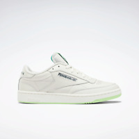 Reebok Club C 85 Leather shoes white and neon mint