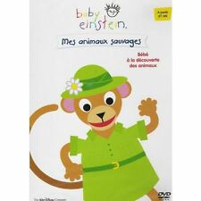 """RARE! DVD """"BABY EINSTEIN - MES ANIMAUX SAUVAGES"""" Disney"""