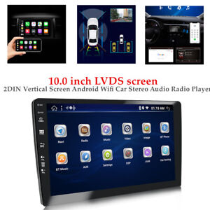 """10.0"""" Touch Screen 2 DIN Android Wifi Car Stereo Audio Radio Video Player 2+32GB"""