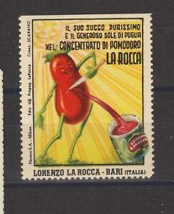 Italian Poster Stamp Food
