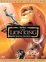 Disney's The Lion King (DVD, 2003, 2-Disc Set, Platinum Edition)  Brand New!