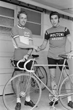 Eddy Merckx & Joop Zoetemelk Tour De France Cycling 1973, Reprint 7x5 inches