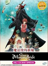 DVD Anime The Ancient Magus' Bride Complete Series (1-24 +Special) English Audio