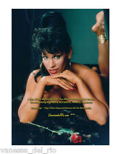 Vanessa del Rio COLOR Photo BY BARBARA NITKE 8x10 Sign Aft BUY w/COA