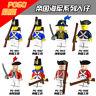 PG991-998 Bausteine Royal Marine Militär Soldaten Krieg Ritter 1en Mit Waffe