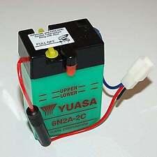 batterie yuasa 6n2a-2c pour dax st70 6v sans acide