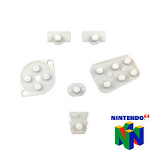 REPLACEMENT CONDUCTIVE RUBBER PADS - Fix NINTENDO 64 N64 Controller Buttons